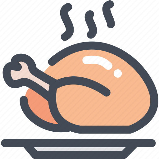 Food, meal, meat, poultry, turkey icon - Download on Iconfinder