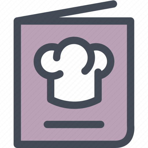 cooking, cuisine, food, menu, menu book, recipe book icon