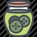 cooking, food, gastronomy, jar, pickles