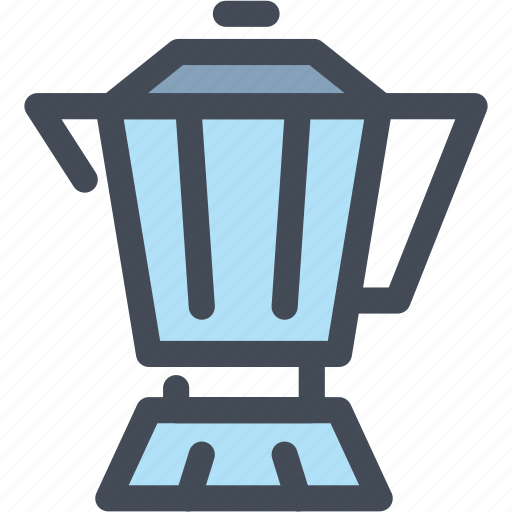 beverage, coffee, drink, food, hot, moka pot icon
