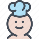 chef, chef hat, chefs hat, cook, food, toque icon