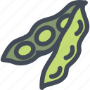 food, healthy, pea, peas, vegetable icon