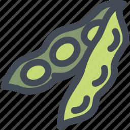 food, healthy, pea, peas, vegetable icon