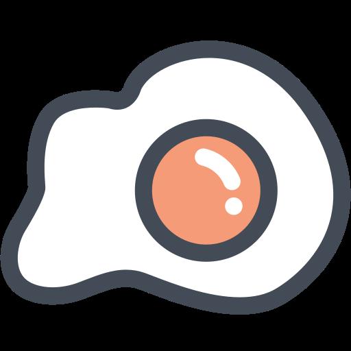 breakfast, egg, eggs, food, fried egg icon