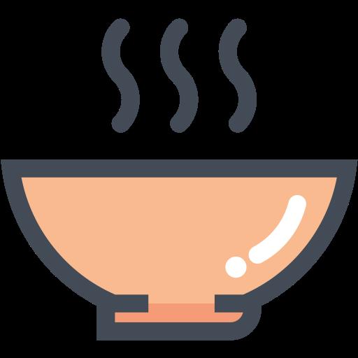 bowl, food, food bowl, hot food, hotsoup, soup icon