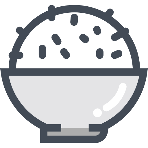 asian food, bowl, chinese food, food, rice icon