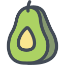 avocado, dip, food, fruit, guacamole icon