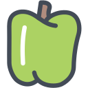 bell, bell pepper, farm, food, pepper, vegetable icon