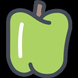 bell, bell pepper, farm, food, pepper, vegetable icon