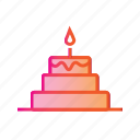 birthday cake, cake, christmas cake, dessert, food, party, xmas icon