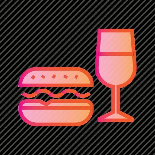 burger, cheese burger, drink, fastfood, food, hamburger, junk food icon