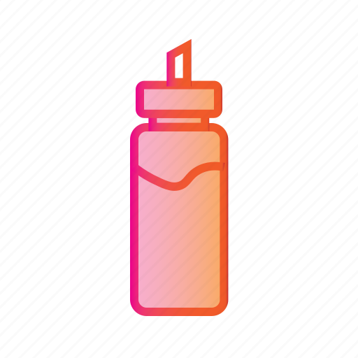 bottle, container, drink, flask, water bottle icon