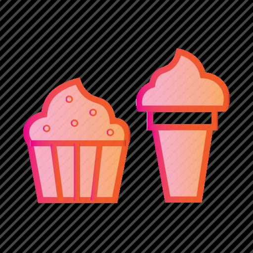delicious food, dessert, food, ice cream, icecream, icecream combo, sweet icon