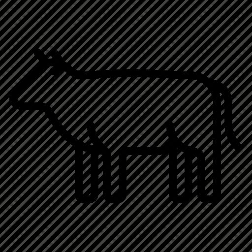 beef, bull, cow, farm, meat, steak icon