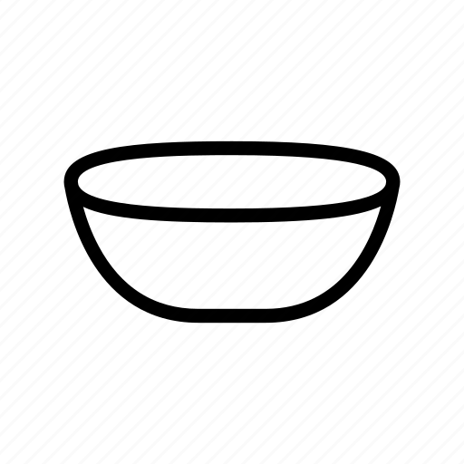 bowl, dish, food, kitchen, pan, plate icon