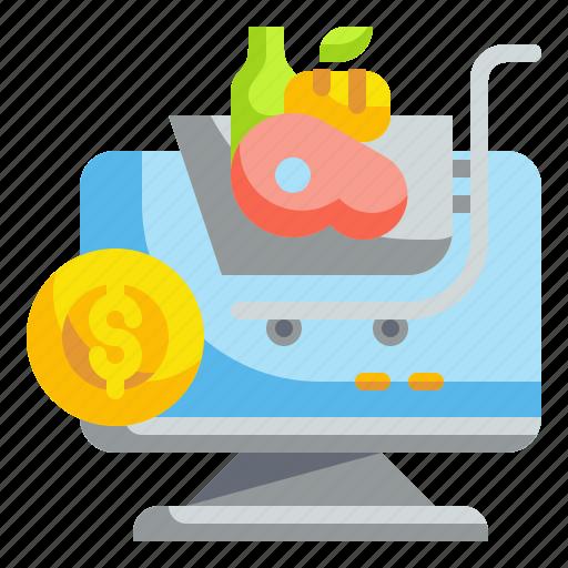 Delivery, food, internet, market, online icon - Download on Iconfinder