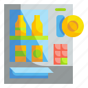 drinks, food, machine, vending icon