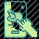 application, food, online, order, smartphone