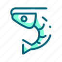 food, meal, prawn, seafood, shrimp icon