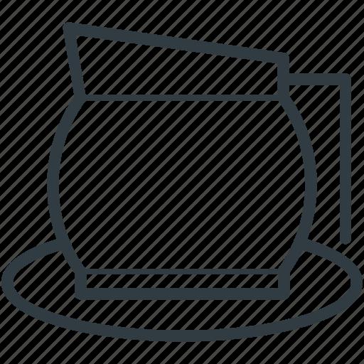 dishware, tea accessories, tea kettle, tea pot, tea set icon