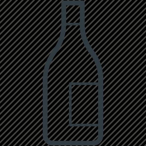 alcohol, beer, bottle, drink, wine bottle icon