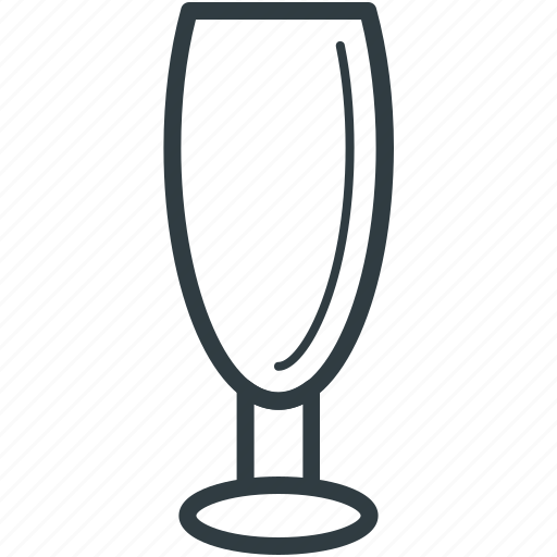 alcohol glass, champagne glass, drink, flute glass, glass icon