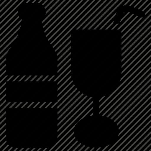 alcoholic beverage, alcoholic drink, champagne, wine, wine bottle icon