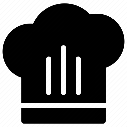 baker cap, chef cap, chef logo, cook cap, kitchen log icon