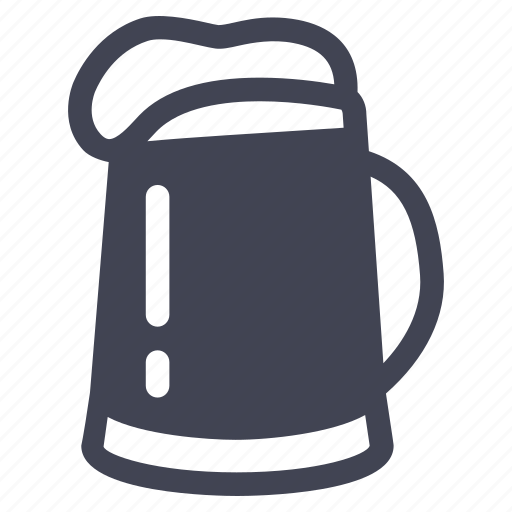 alcohol, beer, beverage, drink, jug icon