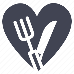cook, diet, food, heart, love, valentine icon