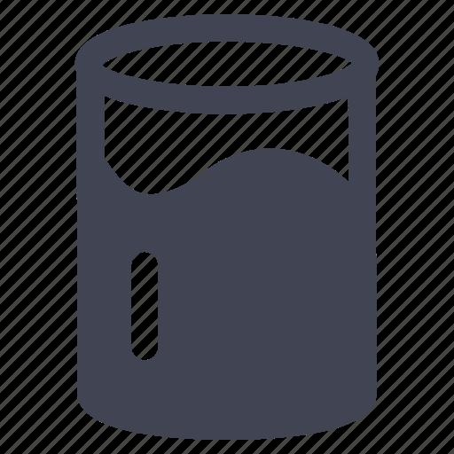 beverage, drink, glass, juice, milk icon