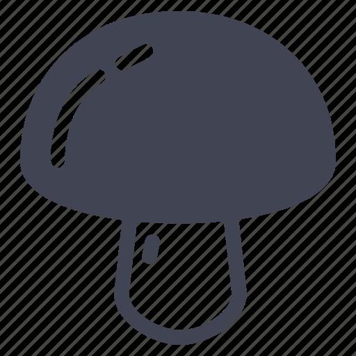 food, kitchen, mushroom, mushrooms, vegetable icon