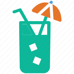 cocktail, cold drink, refreshing drink, summer juice icon