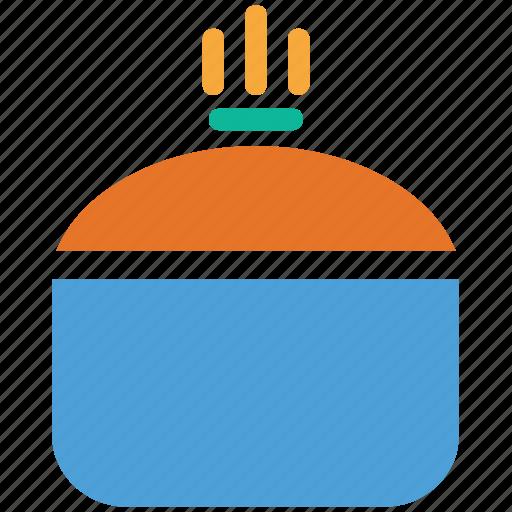 cooking pot, hot food, hot pot, saucepan icon