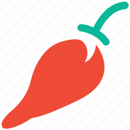 chili, hot pepper, pepper, vegetable icon
