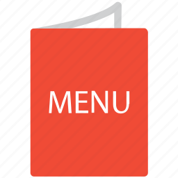 bill of fare, carte du jour, menu, menu card icon