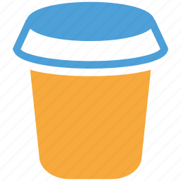 coffee cup, cup, disposable, paper coffee cup, paper cup icon