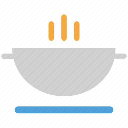bowl of soup, food, hot soup, soup icon