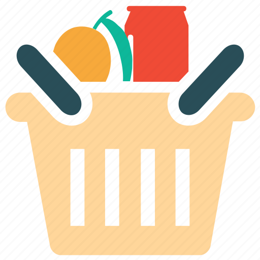 Basket, food, food basket, shopping icon - Download on Iconfinder