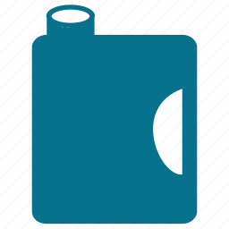 bottle, canister, container, jerrycan icon