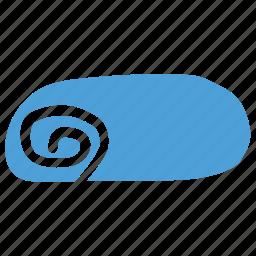bread roll, food, roll icon