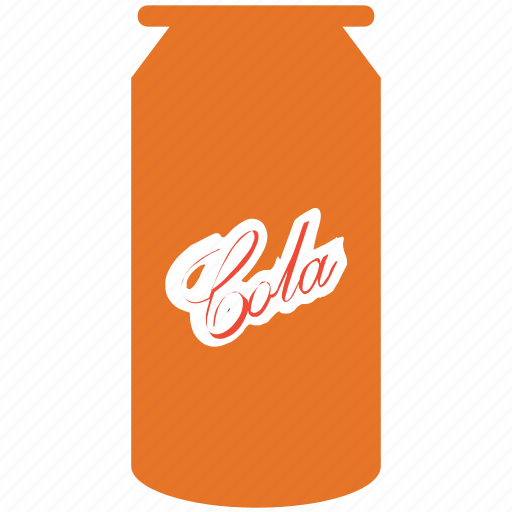 can, cola, cola can, drink icon