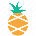 pineapple, food, fruit, tropical