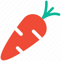 carrot, food, fruit, healthy food icon