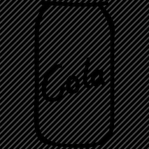 coke, coke can, cola, soda icon