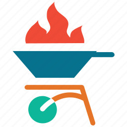 barbecue, bbq, cooking pot, hot pot icon