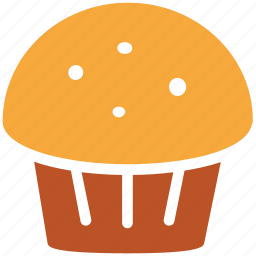 cake, cupcake, dessert, muffin icon