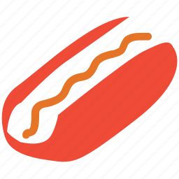 fastfood, food, hotdog, junk food icon