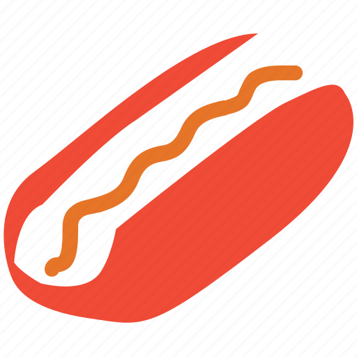 fastfood, food, hotdog, junk food icon