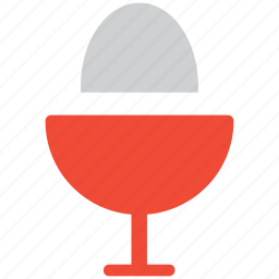 egg, egg in pot, food, healthy food icon